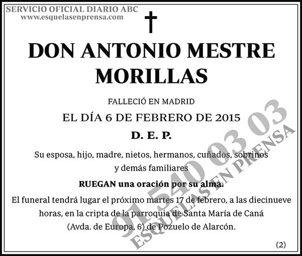 Antonio Mestre Morillas